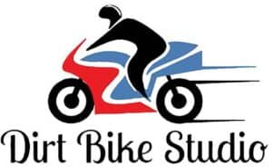 Dirt bike studio logo
