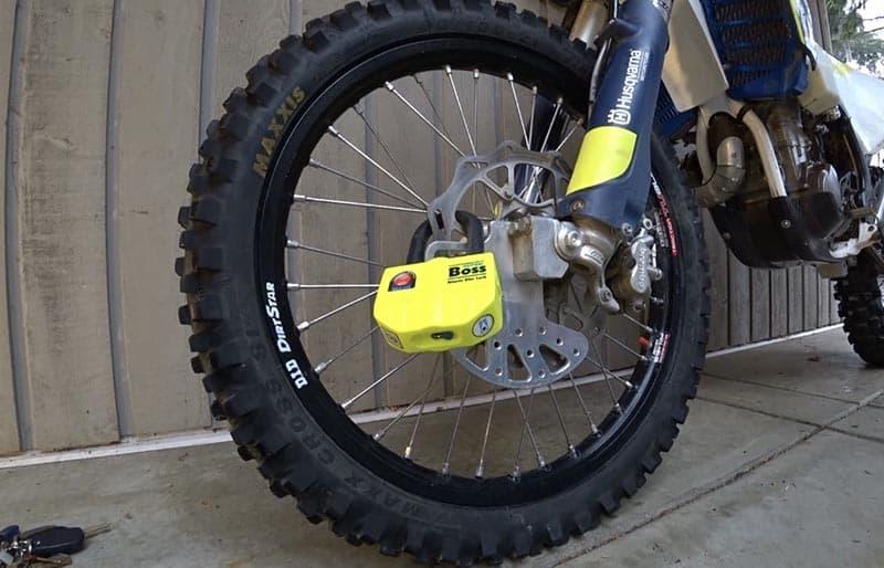 Dirt bike theft prevention