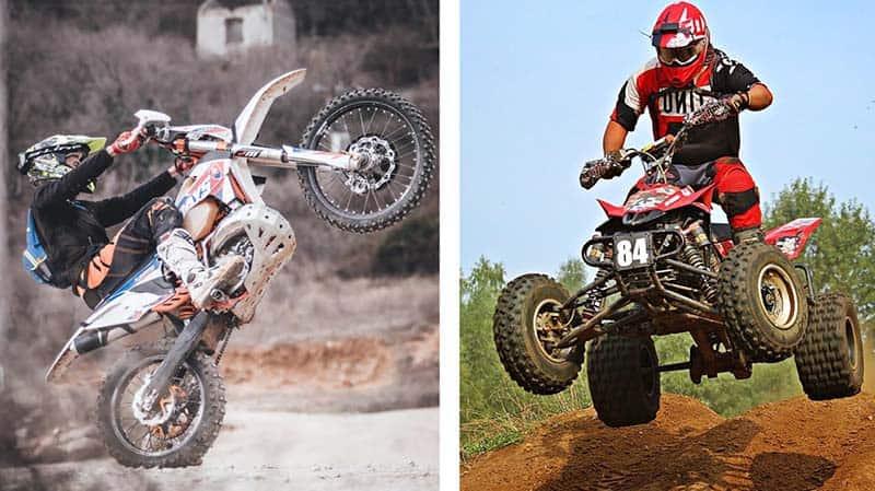 Compare Between Dirt Bike vs ATV