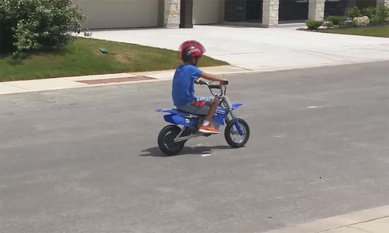 razor mx350 kids motorbike