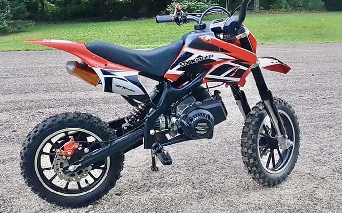 syx moto 50cc dirt bike
