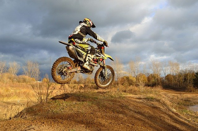 how old do you have to be to ride a off road bile